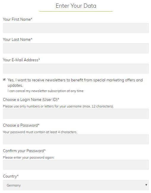Paid Signup Step 2